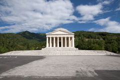 Templo de Canova - Possagno, Italy fotos de stock