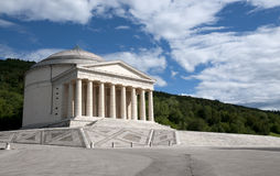 Templo de Canova - Possagno, Italy fotografia de stock royalty free