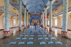 Templo de Caodaist imagens de stock