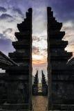 Templo de Cetho Fotos de Stock