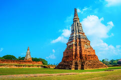 Templo de Chaiwattanaram Imagenes de archivo