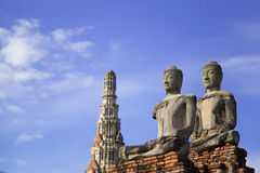 Templo de Chaiwattanaram fotografía de archivo