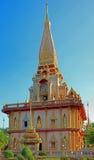Templo de Chalong Fotografia de Stock