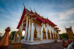 Templo de Chalong em Phuket Tailândia Imagens de Stock Royalty Free