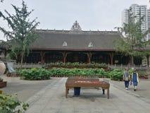 Templo de Chengdu fotografia de stock royalty free