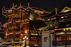 Templo de Chenghuang Foto de archivo