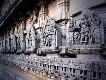 Templo de Chennakeshava em Belur Imagem de Stock