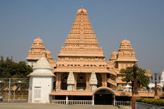 Templo de Chhatarpur Imagen de archivo