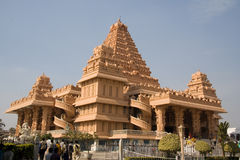Templo de Chhatarpur Imagenes de archivo