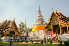 Templo de Chiang Mai, Tailândia imagens de stock