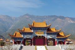 Templo de China Chongsheng Fotografia de Stock Royalty Free