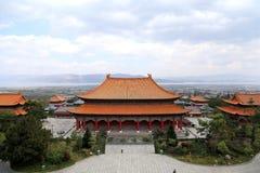 Templo de Chongshen e três pagodes em Dali Província de Yunnan China Fotografia de Stock Royalty Free