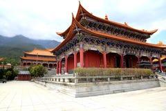 Templo de Chongshen y tres pagodas en Dali Provincia de Yunnan China Fotografía de archivo