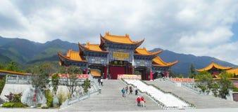 Templo de Chongsheng Imagenes de archivo