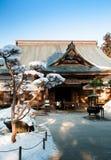 Templo de Choson-ji del patrimonio mundial, Hiraizumi, Iwate, Japón fotografía de archivo