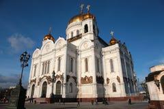 Templo de Christ do salvador em Moscovo fotos de stock