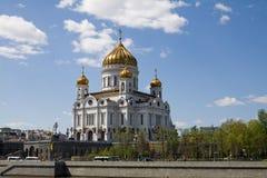 Templo de christ o salvador em Moscovo Fotos de Stock
