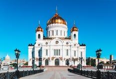 Templo de Christ o salvador Igreja do russo fotos de stock