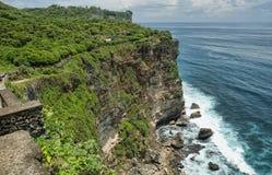 Templo de Clifftop, Bali, Indonésia imagens de stock