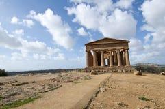 Templo de Concordia Foto de Stock
