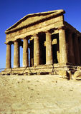 Templo de Concordia, Agrigento Fotos de archivo