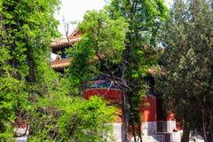 Templo de Confucio, Pekín, China fotografía de archivo