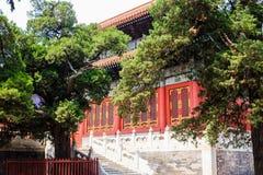 Templo de Confucio, Pekín, China foto de archivo libre de regalías