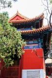 Templo de Confucius, Pequim, China imagens de stock