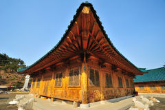 Templo de Coreia imagem de stock royalty free