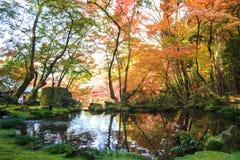 Templo de Daigo-ji con los árboles de arce coloridos en otoño, Kyoto, Japa Imagen de archivo