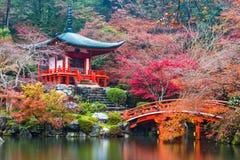 Templo de Daigo-ji no outono foto de stock royalty free