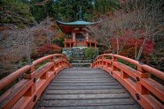 Templo de Daigoji Foto de archivo libre de regalías