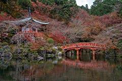Templo de Daigoji Imagen de archivo