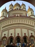 Templo de Dakshineshwar Fotografía de archivo