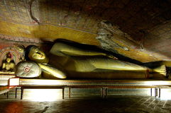 Templo de Dambula foto de archivo libre de regalías