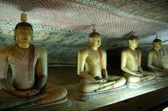 Templo de Dambula fotos de archivo libres de regalías