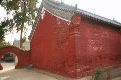 Templo de Danxia em Nanyang fotografia de stock royalty free