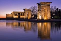 Templo de Debod Imagen de archivo