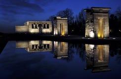 Templo de Debod Fotografía de archivo