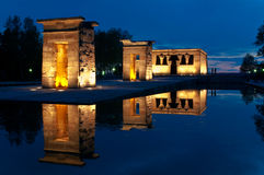 Templo de Debod Stock Photos