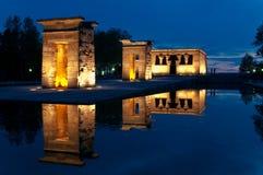 templo de debod Στοκ Φωτογραφίες