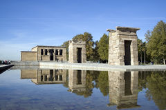 Templo de Debod Stock Photo