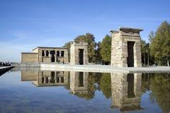 Templo DE Debod Stock Foto