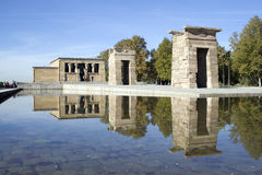Templo de Debod Royalty Free Stock Photo