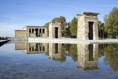 Templo DE Debod Royalty-vrije Stock Foto