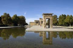 Templo DE Debod Royalty-vrije Stock Fotografie