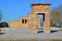 Templo de Debod Imagenes de archivo