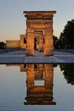 Templo de Debod stockfotografie