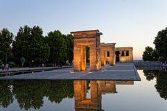 Templo de Debod stockbild