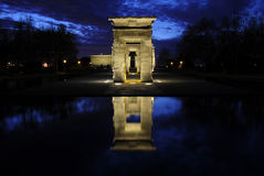 Templo de Debod Royalty Free Stock Images
